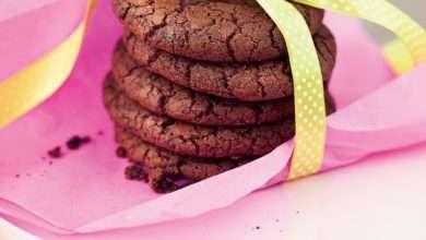 Photo of Cookies de chocolate com café