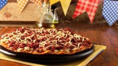 Photo of Pizza de carne-seca