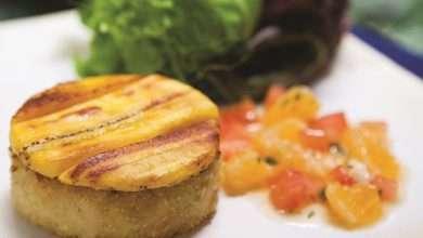 Photo of Hambúrguer de bacalhau com banana-da-terra