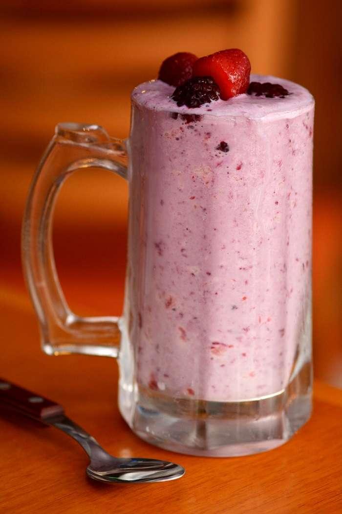 Shake Frutas Vermelhas