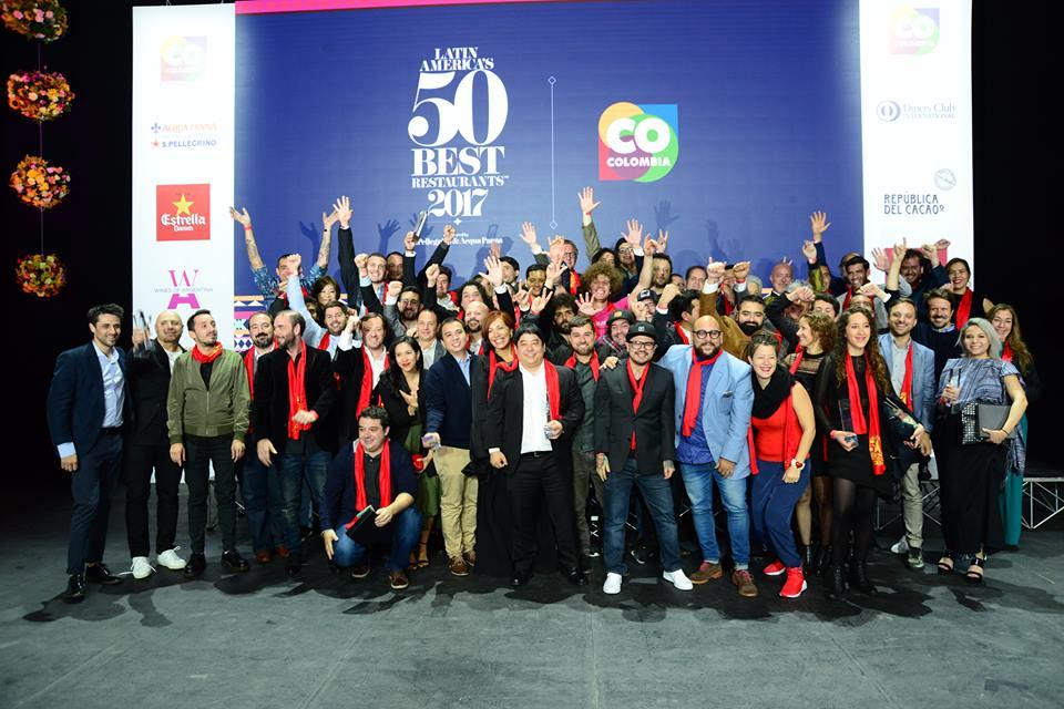 Foto: reprodução/ Facebook Latin America's 50 Best