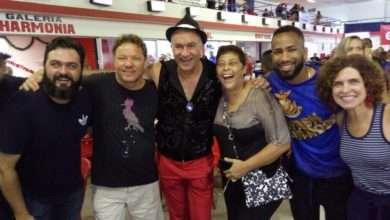 Photo of Claude Troisgros e Laurent Suaudeau caem no samba