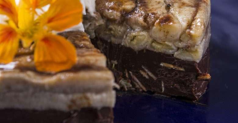 Trio de banana, chocolate e mascarpone _ Chef Dani Padalino