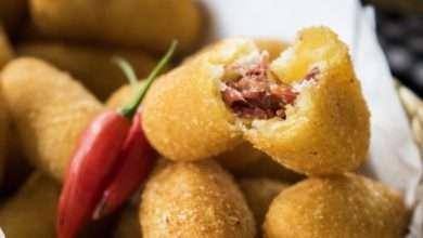 Photo of Bolinho de mandioca com carne seca