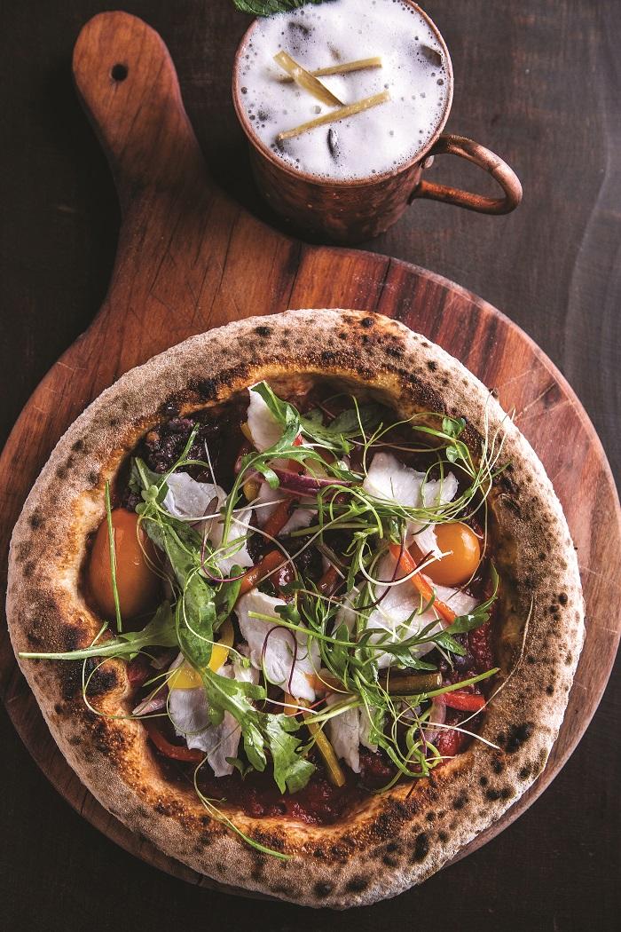 Photo of Fresh fish pizza