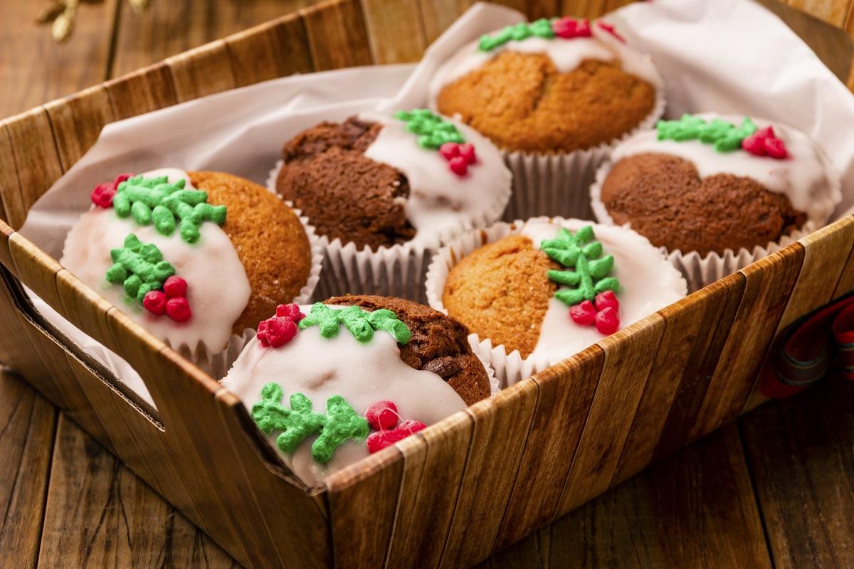 Photo of Muffins natalinos