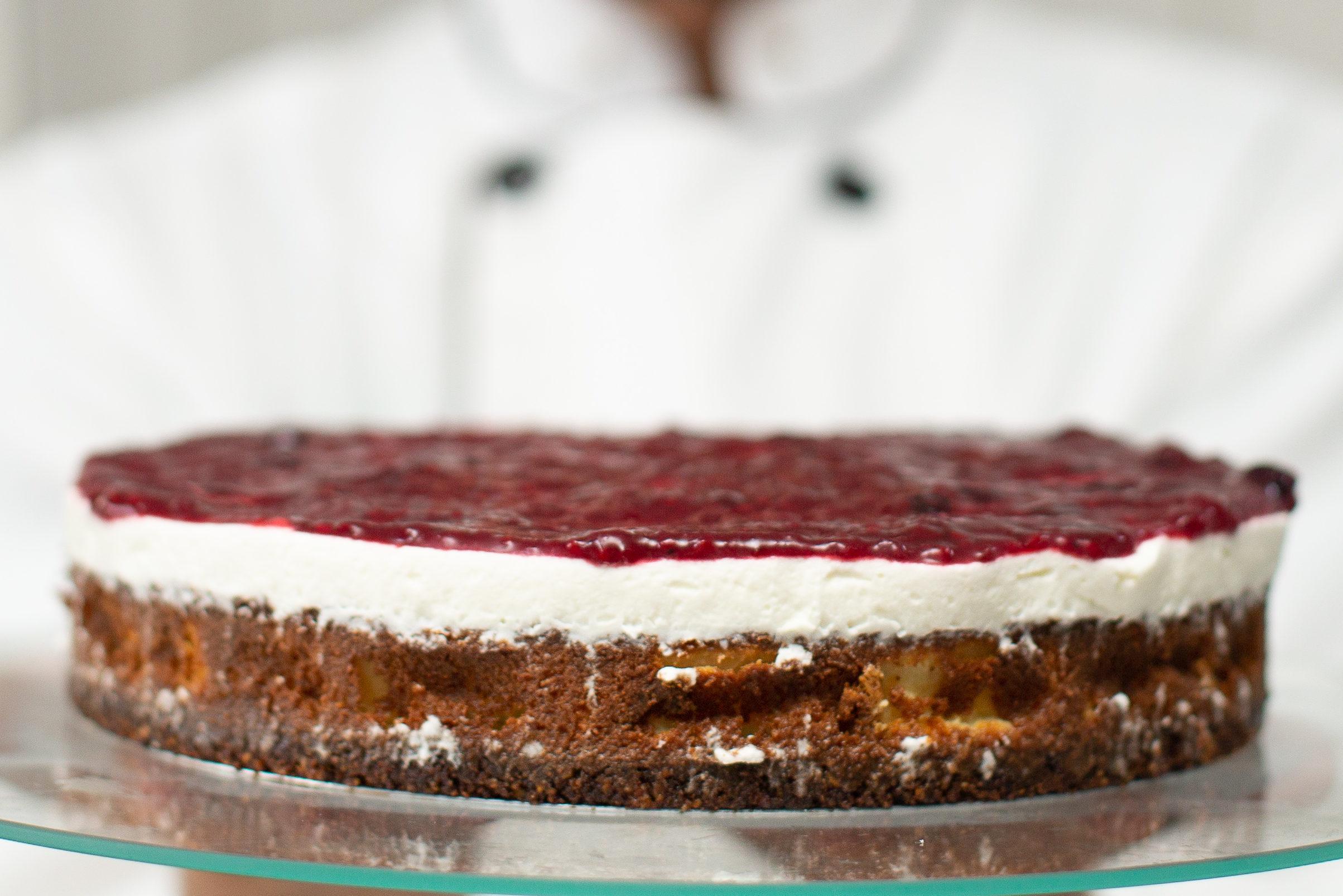 Photo of Cheesecake lowcarb sem glúten e sem lactose