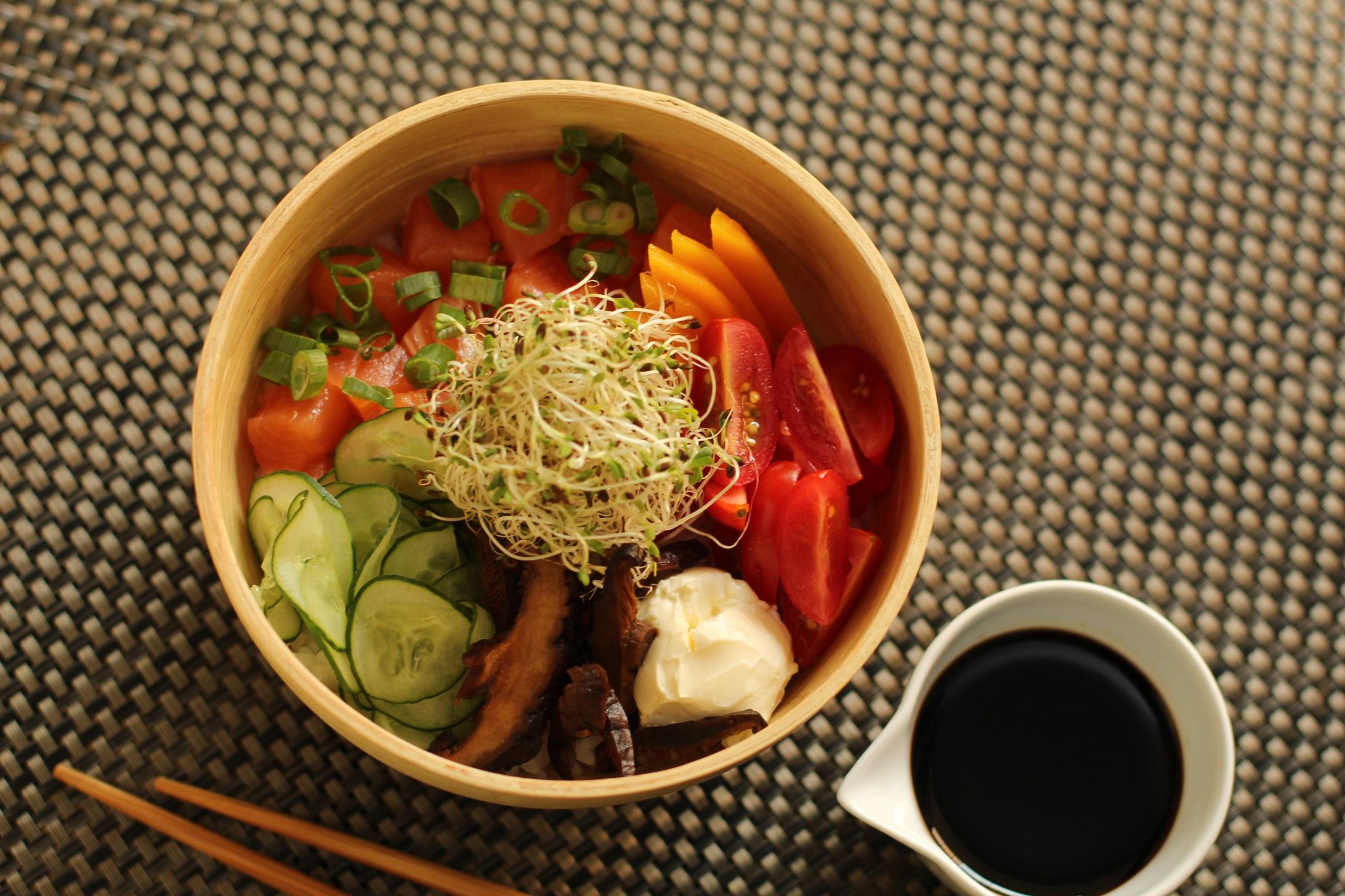 Photo of Sushi de tigelinha