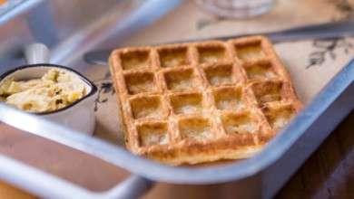 Photo of Waffle de pão de queijo