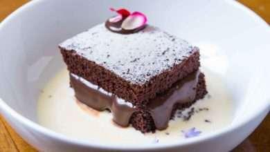 Photo of Bolo de chocolate morno