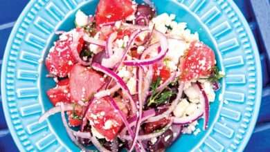 Photo of Salada de melancia