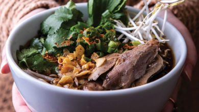Photo of Kuai Tiau Ped (Consomê de pato com noodles de arroz)