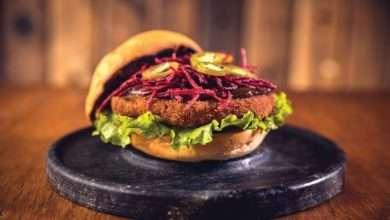 Photo of Hambúrguer vegano