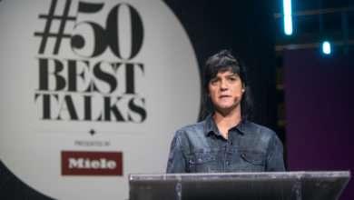 Photo of Manu Buffara representa Curitiba em evento #50BestTalks, em Paris