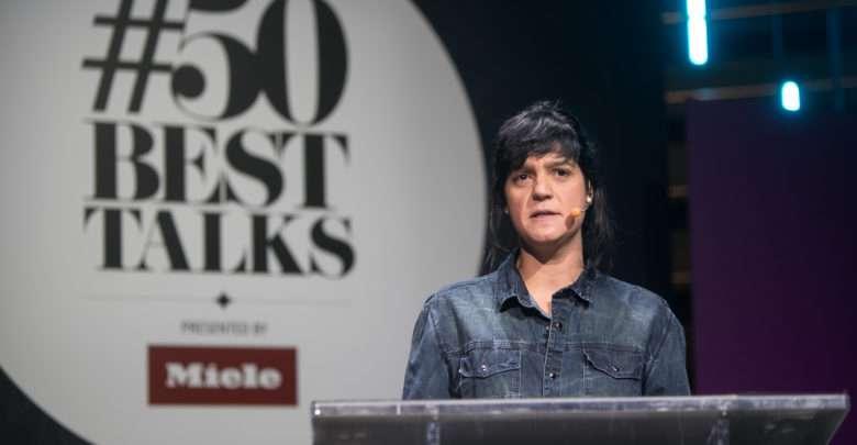 Manu Buffara representa Curitiba em evento #50BestTalks em Paris