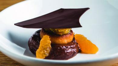 Photo of Mousse de chocolate e bolo úmido de tangerina