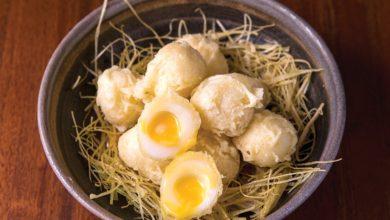 Photo of Ninho de tempurá de ovos de codorna