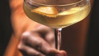 Photo of Sparkling martini