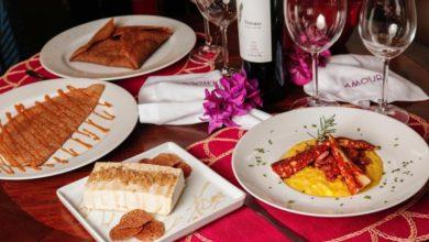 Photo of Bistrô carioca oferece kits com menu completo e guardanapos bordados com palavras de afeto