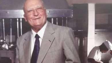 Photo of Mario Tatini morre aos 92 anos