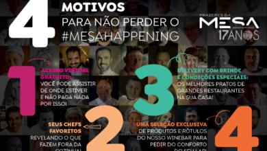 Photo of Mesa Happening: o reencontro da gastronomia