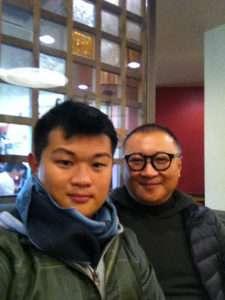 Rafael Shu e Jin Shun | Foto: arquivo pessoal