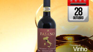 Photo of Vinho com grife: Fasano Chianti Classico 2016