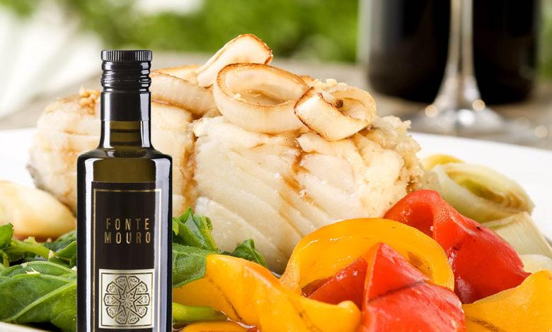 bacalhau Azeite português Fonte Mouro Fotos: Arquivo PDM