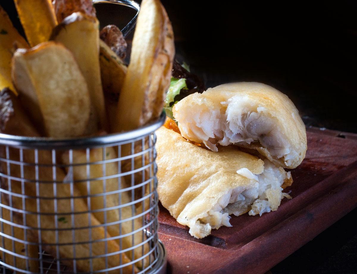 Fish & chips do Camden House