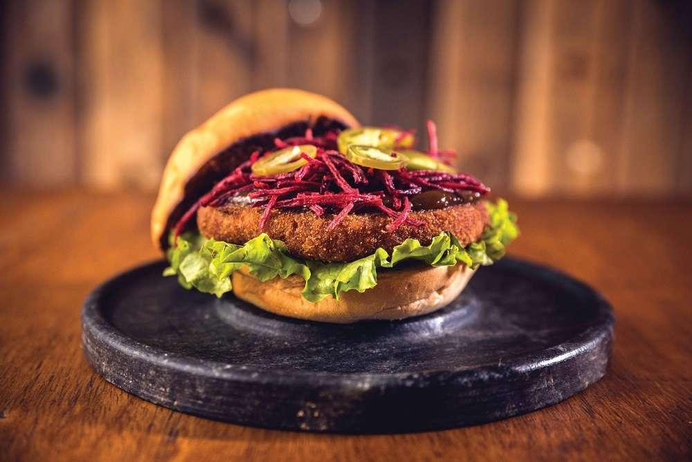 Hambúrguer vegano | Foto: divulgação