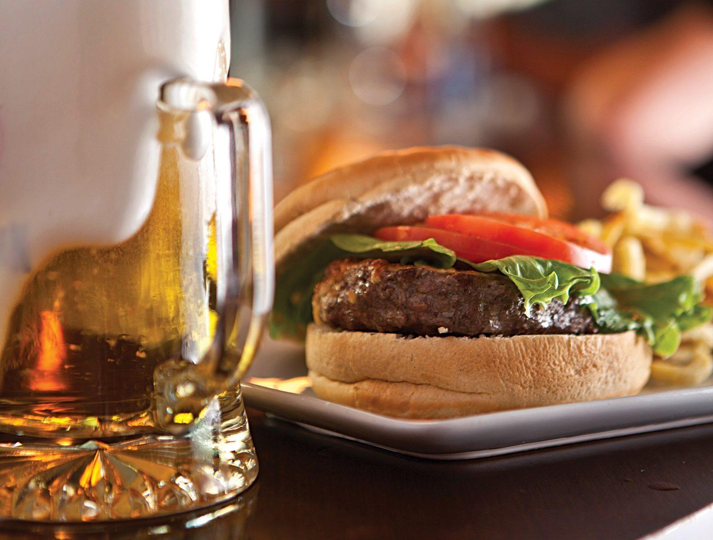 Tradicional burger | Foto: divulgação