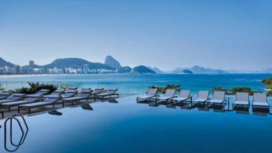 Vista da piscina do Fairmont Copacabana   Foto: Rômulo Fialdini, divulgação