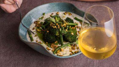 Risoto de quinoa com creme de castanha-de-caju