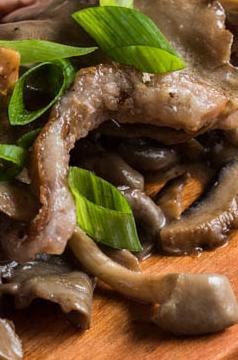 Mix de cogumelos salteados