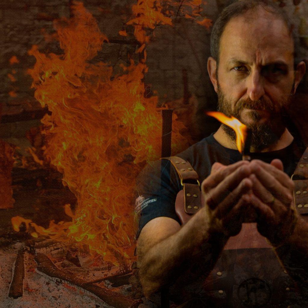 Arte do evento A Ferro e Fogo